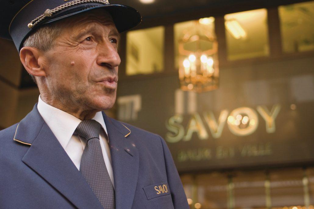 Der Philosoph vom Savoy Baur en Ville