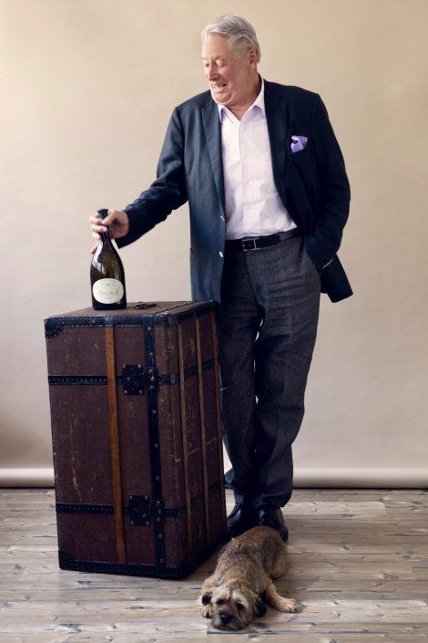 Weinhändler Peter Riegger