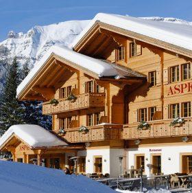 Das Hotel Aspen in Grindelwald