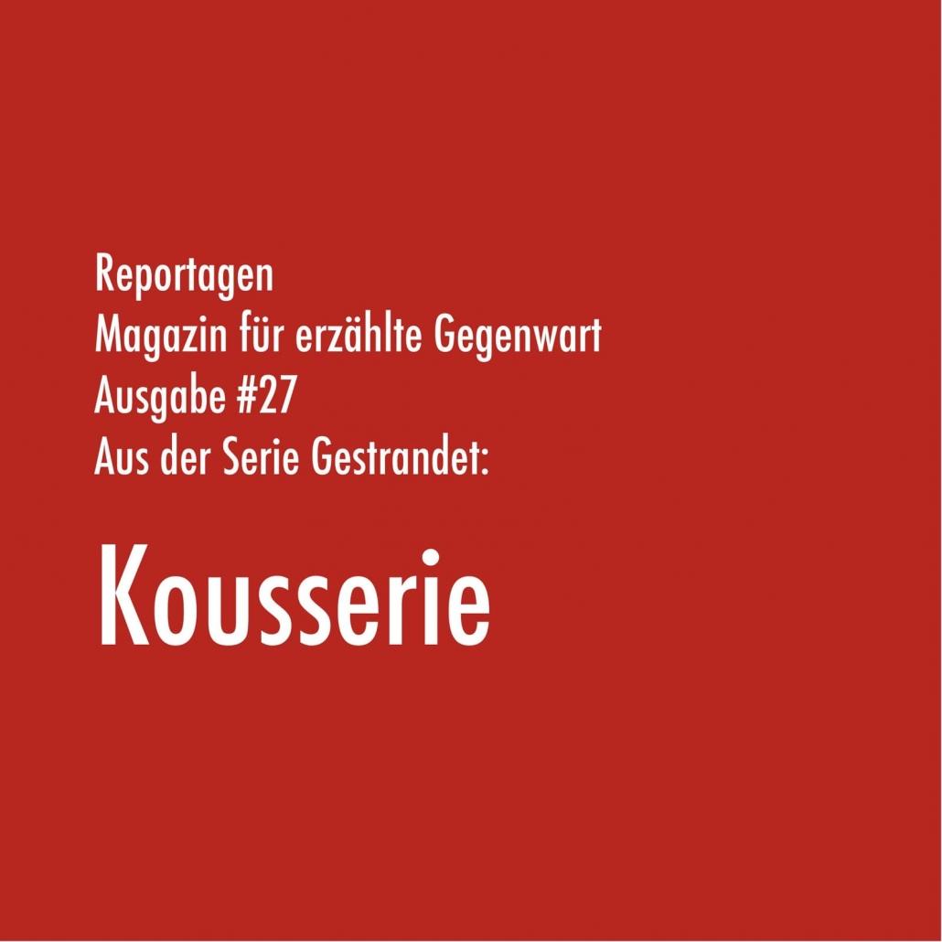 Magazin für erzählte Gegenwart