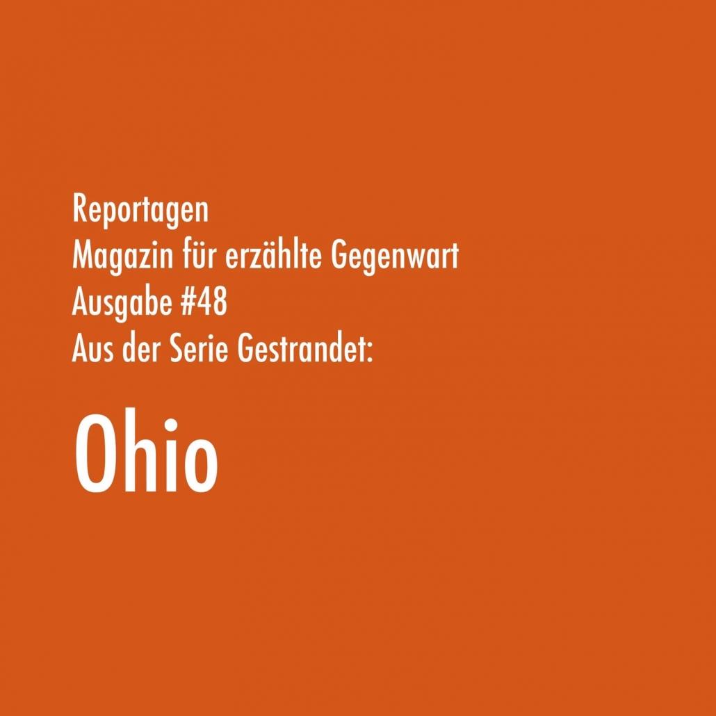 Ohio | Aus der Serie Gestrandet | Magazin Zürich
