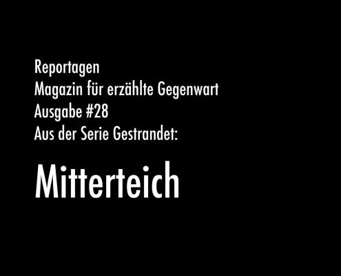 Mitterteich | Aus der Serie Gestrandet | Magazin Zürich